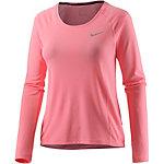 Nike Miler Laufshirt Damen rosa