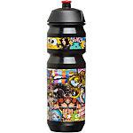 riesel design fla:sche 750 ml Trinkflasche schwarz/bunt