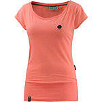 Naketano Wolle IX T-Shirt Damen apricot melange