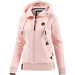Naketano Every World Knows it II Sweatjacke Damen rosa melange