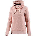 Naketano Put the D on Me Hoodie Damen rosa melange