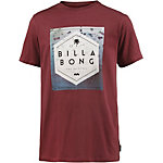 Billabong Hex Fill Printshirt Herren bordeaux