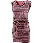 Ragwear Jerseykleid Damen rosa/grau