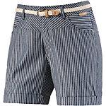 Ragwear Shorts Damen blau/weiß gestreift