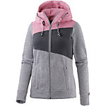 Maui Wowie Strickfleece Damen grau/pink