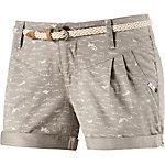 Ragwear Shorts Damen beige/weiß