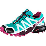 Salomon Speedcross 4 GTX® Laufschuhe Damen türkis/blau/bordeaux