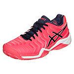 ASICS Gel-Resolution 7 Clay Tennisschuhe Damen pink / dunkelblau