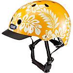 Nutcase Hula Vibe Fahrradhelm orange/weiß