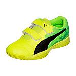 PUMA Veloz Indoor III V Handballschuhe Kinder gelb / grün
