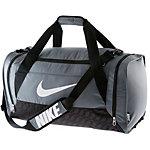 Nike Brasilia 6 Sporttasche grau/schwarz