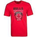 adidas Chicago Bulls GFX Basketball Shirt Herren rot / schwarz