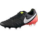 Nike TIEMPO LEGEND VI FG Fußballschuhe Herren schwarz/orange