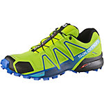 Salomon Speedcross 4 Laufschuhe Herren grün/blau