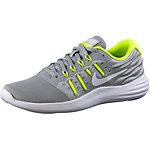 Nike Lunarstelos Laufschuhe Damen grau/neongelb