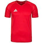 adidas Tiro 17 Funktionsshirt Herren rot / weiß