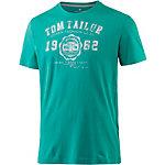 TOM TAILOR T-Shirt Herren grün