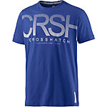 Crosshatch T-Shirt Herren royal