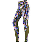 Nike Power Epic Lux Lauftights Damen oliv/rosa/blau