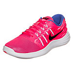 Nike Lunarstelos Laufschuhe Damen neonpink / blau