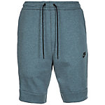 Nike Tech Fleece Shorts Herren grüngrau / schwarz