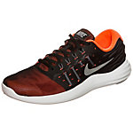 Nike Lunarstelos Laufschuhe Herren schwarz / orange