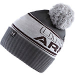 Under Armour ColdGear Pom Cap Herren grau