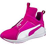 PUMA Fierce Core Fitnessschuhe Damen neonpink/weiß
