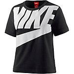 Nike T-Shirt Damen schwarz/weß