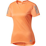 adidas Response Laufshirt Damen orange