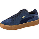PUMA Vikky Platform Sneaker Damen blau