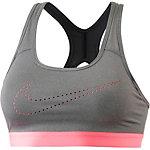 Nike Pro Classic Cooling Sport-BH Damen grau/neonpink