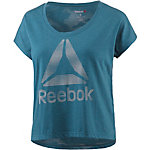 Reebok One Series T-Shirt Damen petrol/melange