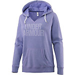 Under Armour Hoodie Damen blau/melange