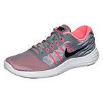 Nike Lunarstelos Laufschuhe Damen grau / korall