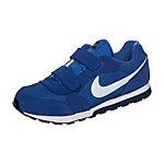 Nike MD Runner 2 Sneaker Kinder blau / weiß