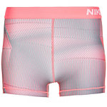 Nike Pro Dry Funktionsshorts Damen pink / grau / weiß