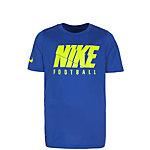 Nike Dry Funktionsshirt Kinder blau / neongelb