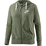Nike Gym Vintage Sweatjacke Damen khaki/melange