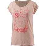 iriedaily T-Shirt Damen rosa