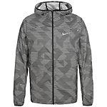 Nike Shield Laufjacke Herren grau / schwarz