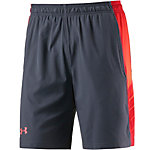 Under Armour HeatGear Supervent Funktionsshorts Herren grau/orange