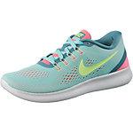 Nike Free Run Laufschuhe Damen mint/koralle