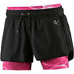 unifit Funktionsshorts Damen schwarz