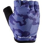 Reebok Fitnesshandschuhe Damen blau