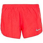 Nike Dry Tempo Laufshorts Damen neonrot