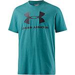 Under Armour HeatGear Sportstyle Logo Funktionsshirt Herren türkis