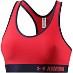 Under Armour Armour Mid Sport-BH Damen rot