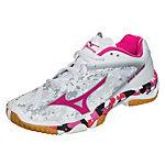 Mizuno Wave Mirage Handballschuhe Damen weiß / rosa