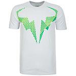 Nike Rafael Nadal Tennisshirt Herren grau / grün